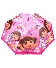 Dora Kids Umbrella With Print - Pink