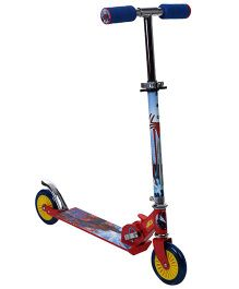 Marvel Spider Man Two Wheeler Scooter - Red And Blue
