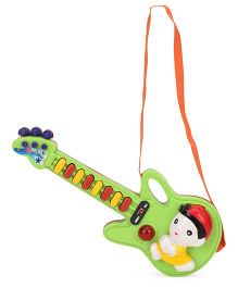 Prasid Musical Guitar With Eight Melodies - Green