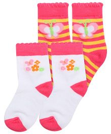 Little's Socks Pair Of 2 (Colors And Design May Vary)