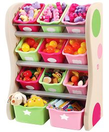 Step2 Fun Time Room Organiser - Multi Color
