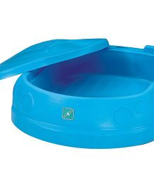 Lerado Car Shaped Sandbox With Cover - Blue
