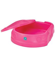 Lerado Car Shaped Sandbox With Cover - Pink