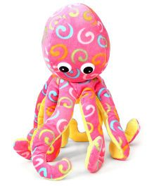Play And Pets Octopus Pink - Height 35 cm