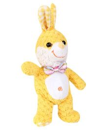 Play And Pets Cute Rabbit Soft Toy Yellow - Height 9 Inch