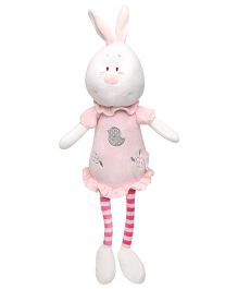 Play N Pet Rabbit Soft Toy Pink - Length 31 cm