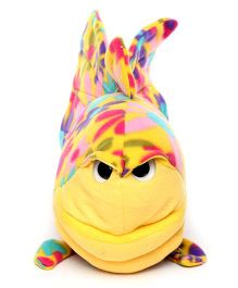 Play N Pets Fish Soft Toy Yellow - Length 42 cm