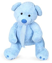Play N Pets Teddy Bear Soft Toy Light Blue - Height 70 cm