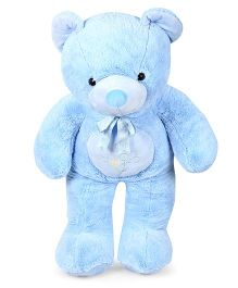 Play N Pets Teddy Bear Soft Toy Light Blue - Height 100 cm