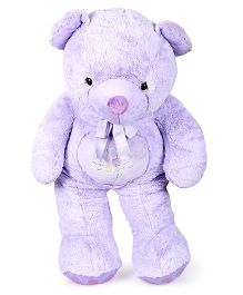 Play N Pets Teddy Bear Soft Toy Purple - Height 100 cm