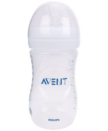 Avent Natural Plastic Baby Bottle - 260 ml