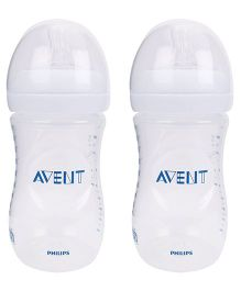 Avent Natural Baby Plastic Bottle Pack Of 2 - 260 ml