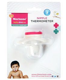 Morisons Baby Dreams Nipple Thermometer - White