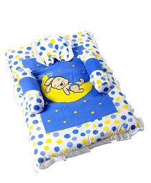 Morisons Baby Dreams Baby Bed Set Bunny Print - Blue