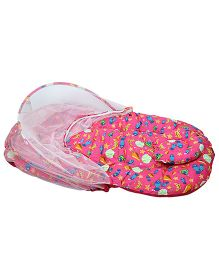Morisons Baby Dreams Mosquito Net Bed Carb Theme - Pink