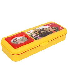Chhota Bheem Plastic Pencil Box - Green And Red