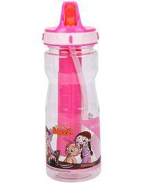 Chhota Bheem Cool Sipper Water Bottle Pink - 500 ml