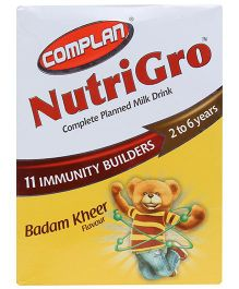 Complan Nutri Gro Badam Kheer Flavour Refill Pack - 400 gm