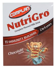 Complan Nutri Gro Chocolate Flavour Refill Pack - 400 gm