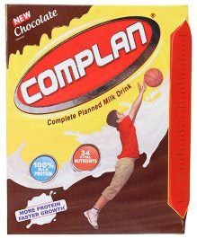Complan Chocolate Flavour Refill Pack - 200 gm
