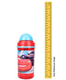 Disney Pixar Cars Sipper Bottle Blue And Red - 350 ml