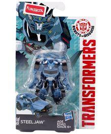 FUNSKOOL Transformers RID Warrior Class Steeljaw Figure - Blue And Black