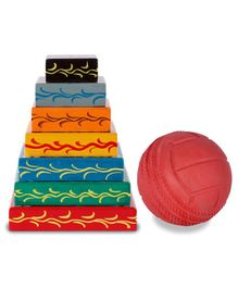 Desi Toys Wooden Lagori Game