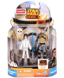 Funskool Star Wars Rebels Ezra Bridger Cadet And Kanan Jarrus - Multi Color
