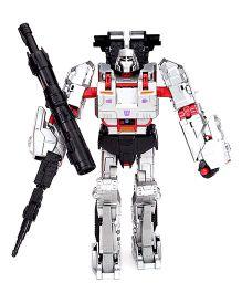 Transformers Funskool Combiner Wars Megatron Figure - Grey And Black