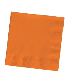 Wanna Party Lunch Napkins Sun Kissed Orange - Pack Of 50