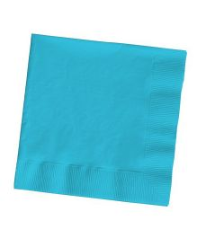 Wanna Party Lunch Napkins Bermuda Blue - Pack Of 50