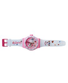 Wanna Party Hello Kitty Watch - White And Pink