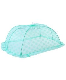 Babyhug Mosquito Net Floral Design Green- Large