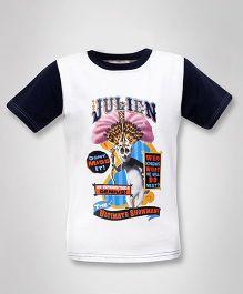 Madagascar - Julien Half Sleeves T-Shirt