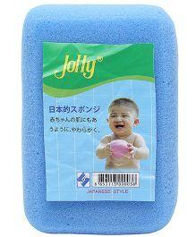 Rectangle Shaped Bath Sponge - Blue