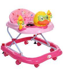 My First Musical Baby Walker Duck Design Pink - MF-20222