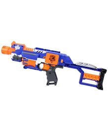 Nerf Funskool N Strike Elite Stockade Gun - Blue And Orange