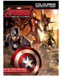 Age Of Ultron Deluxe Colouring And Activity Book - English