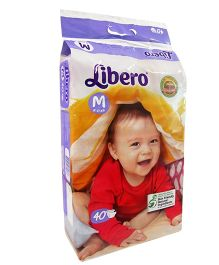 Libero Open Diapers Medium - 40 Pieces