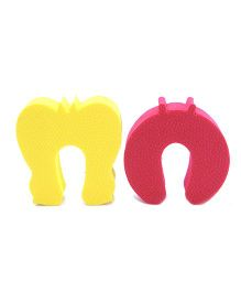 Cutez Door Guards Yellow And Red - Pack Of 2
