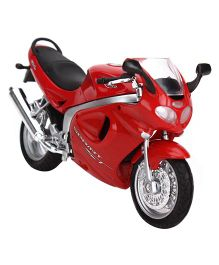 Welly Triumph MPH 2002 Diecast Model Bike - Red
