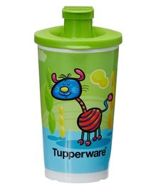 Tupperware Willie and Friends Tumbler Green - 350 Ml