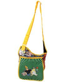 Johnny Bravo Sling Bag Green - 16.1 Inches