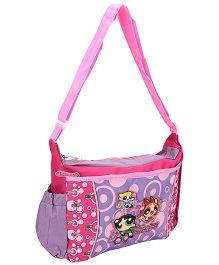 Power Puff Girls Messenger Bag Purple - Height 10 Inches