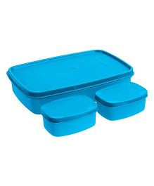 Signoraware Compact Lunch Box Blue - 850 ml