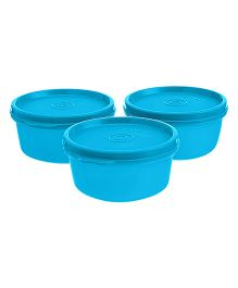 Signoraware Tiny Wonder Containers Blue Set of 3 - 600 ml