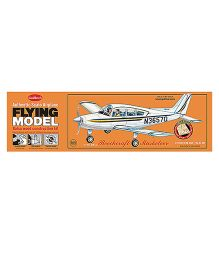 Guillow's Beechcraft Musketeer Authentic Balsa Wood Flying Collectors Model