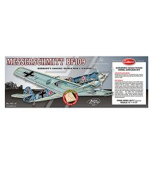 Guillow's German Messerschmitt BF-109 World War II Fighter 3 Mode Flying Collector Model