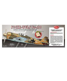 Guillow's German Focke-Wulf FW-190 World War II Fighter 3 Mode Flying Collector Model