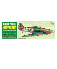 Guillow's British Hawker Mk-1 Hurricane World War II Fighter Collector Model